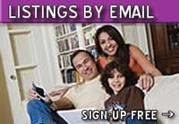 Real Estate Listings by email