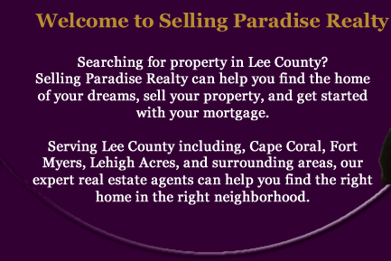 Welcome to Selling Paradise Realty -Selling Real Estate in Southwest Florida